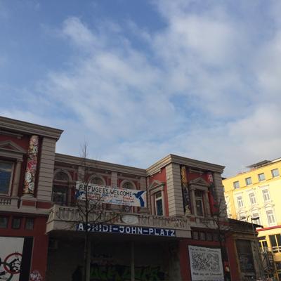 Le Rote Flora, ancien théâtre squatté depuis 1989