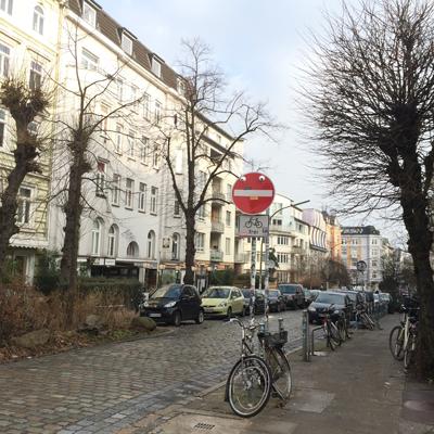Les rues du Schanzenviertel