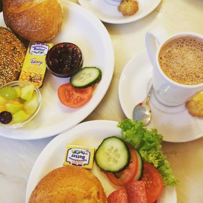 Le petit-déjeuner de rois