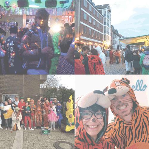 Un petit aperçu de mon Carnaval cette année :)