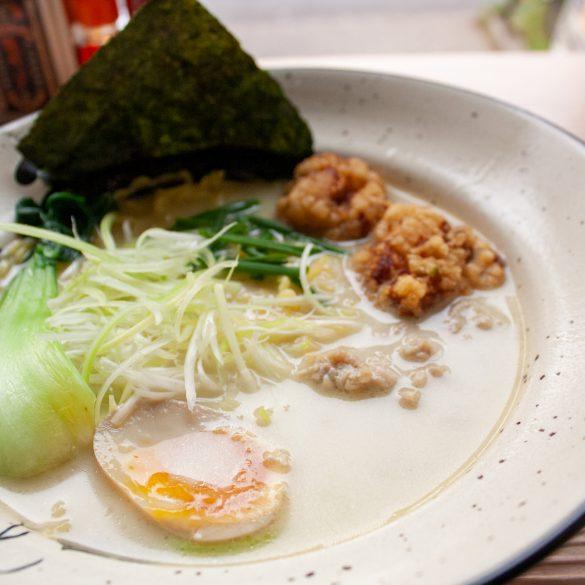 Restaurant japonais dans le Japantown de Düsseldorf - Takumi Chicken & Veggie