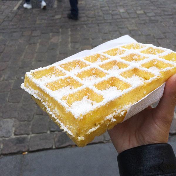 48h à Anvers Belgian Waffle