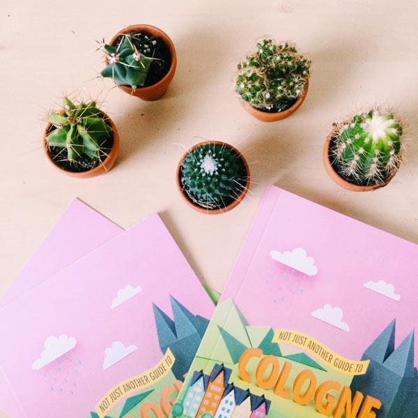 Lama Diaires - Découvertes du Mois - Cactus Not just another guide to Cologne Paper Design - Olamelama