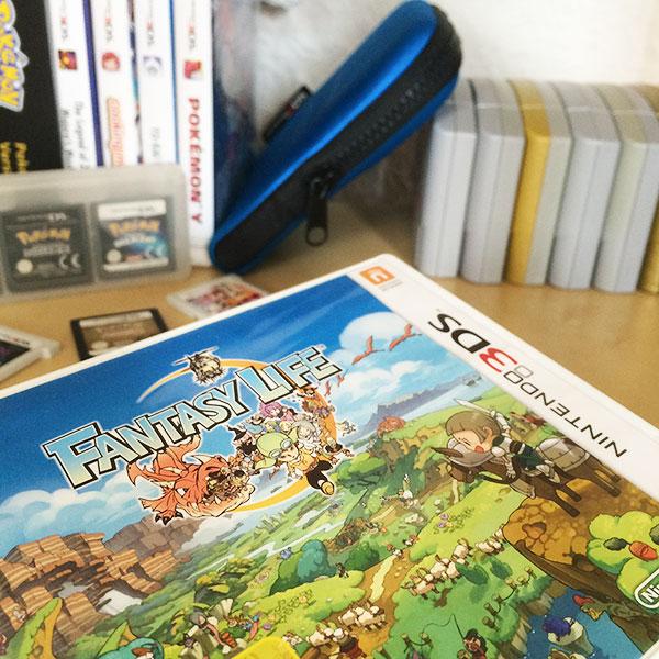 Lama Diaires - Découvertes du Mois - Fantasy Life 3DS - Olamelama