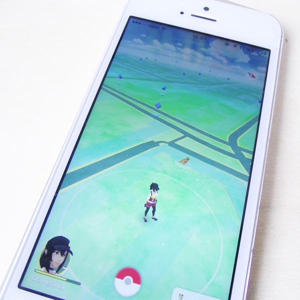 Pokémon Go Interface - Article sur Olamelama