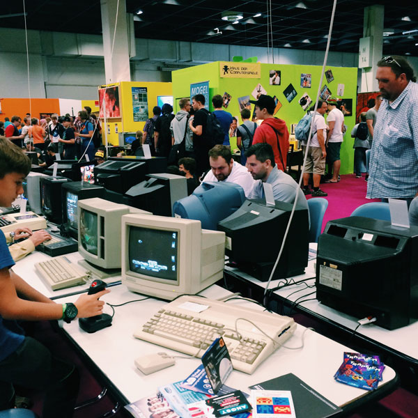 Gamescom 2016 Retrogaming stand - Olamelama blog