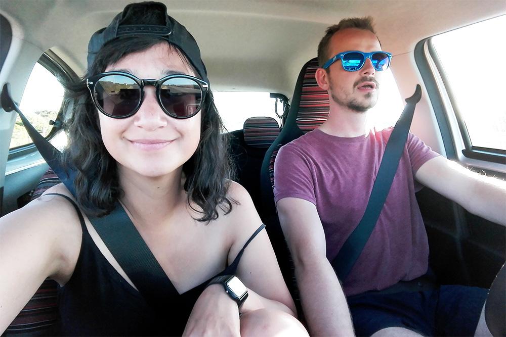 Roadtrip - Faro - Lamas on the road - Olamelama blog