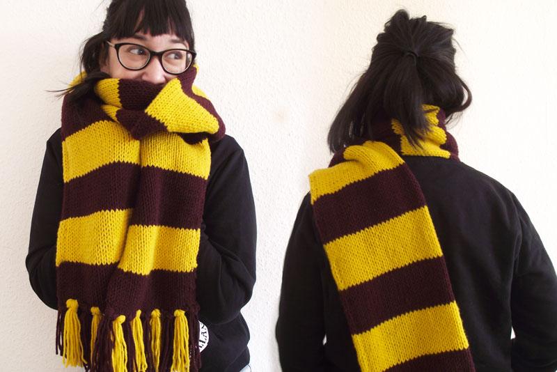 Tuto DIY - Echarpe Harry Potter - Olamelama blog