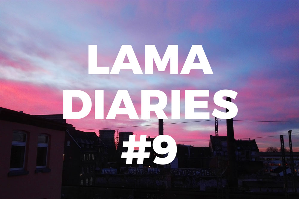 Lama Diaries 9 Décembre - Olamelama blog