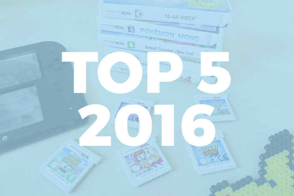 Top Jeux Vidéo 2016 - Olamelama blog