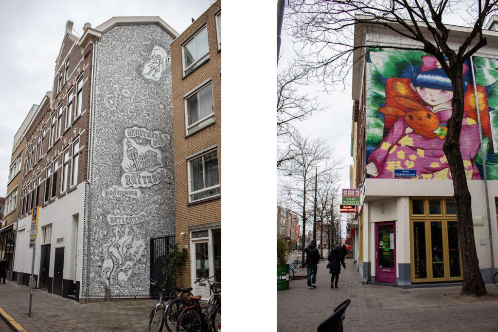 Week-end à Rotterdam - Parcours street art