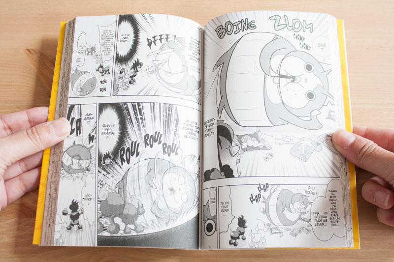 Yo-Kai Watch 3 - Détail intérieur - Manga édité par Kazé - Olamelama - Blog geek et lifestyle