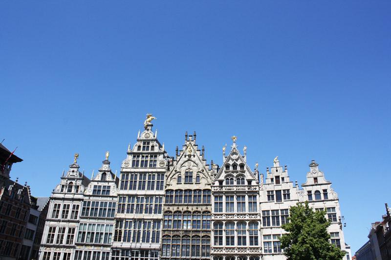 Anvers vue de la Grand Place - Olamelama