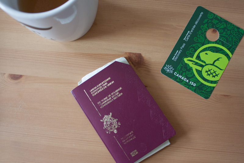 Ancien passeport belge - Olamelama
