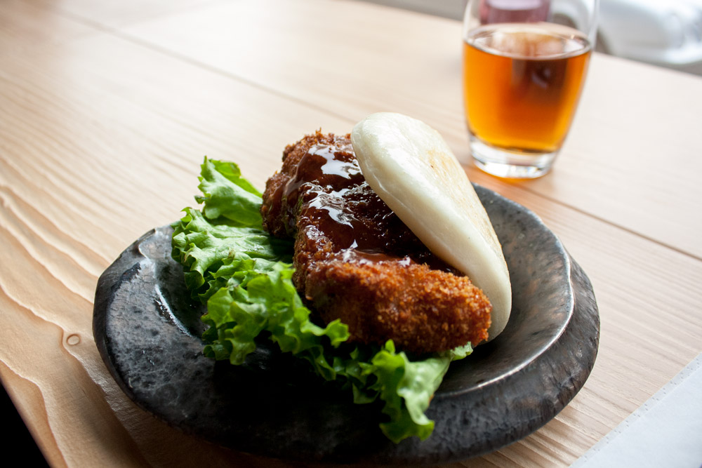 Kara burger - Restaurant japonais Düsseldorf Takumi Chicken & Veggies - Olamelama