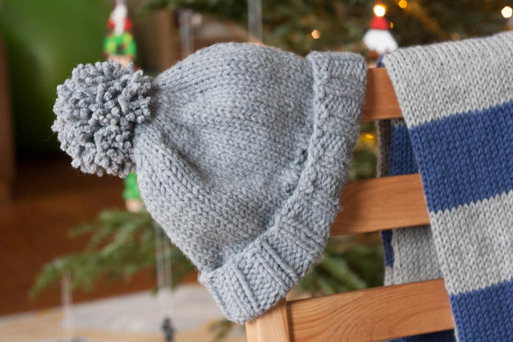 Lama Diaries #21 Décembre 2017 - DIY tricot bonnet simple avec pompon