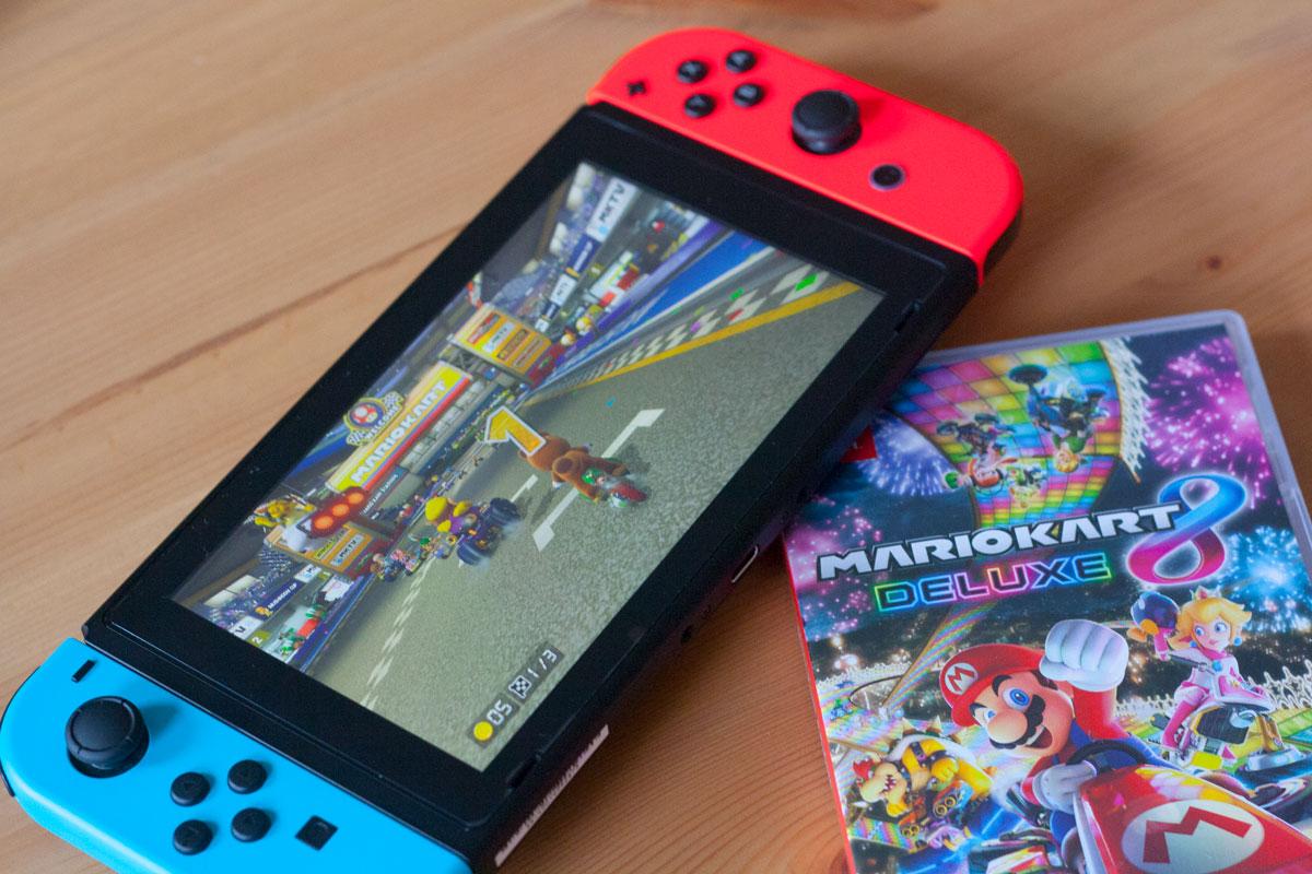 Lama Diaries Mariokart 8 sur Nintendo Switch