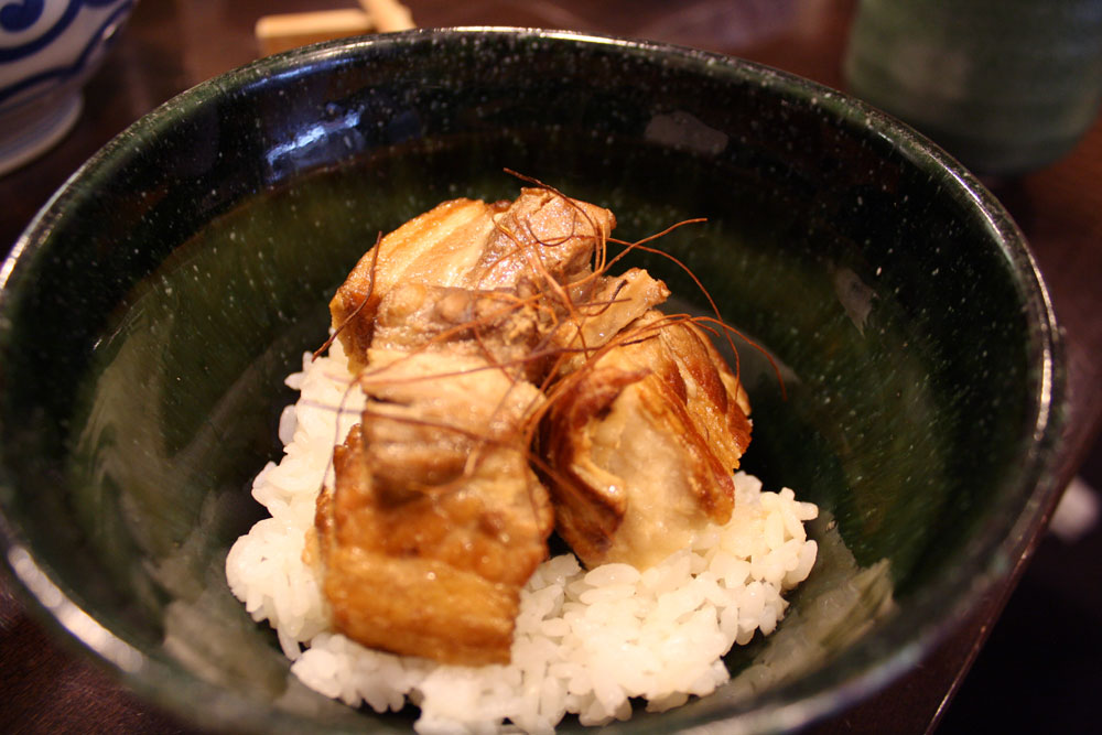 Restaurant japonais Düsseldorf Soba-An Mini Buta Kakuna Don - Olamelama