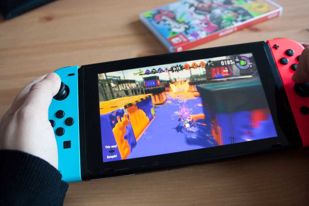 Lama Diaries #23 Février 2018 - Splatoon 2 sur Nintendo Switch
