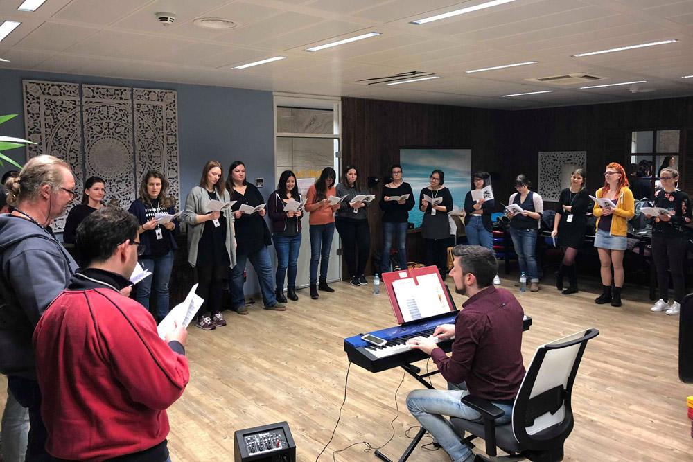 Lama Diaries #22 Janvier 2018 - Chorale à trivago
