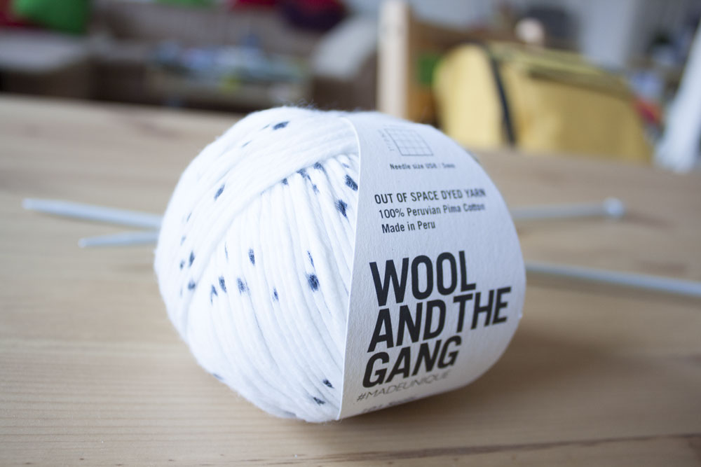 Avis sur le it de tricot Lucky Star de Wool & the Gang - Laine Happy Shiny Cotton