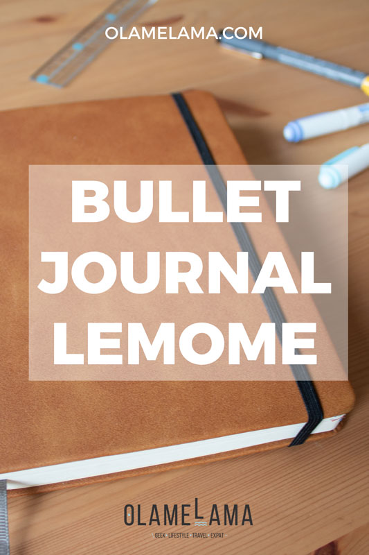 Bullet Journal Lemome - Avis, test et informations - Olamelama