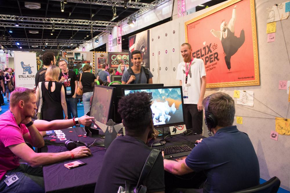 Compte-rendu de la Gamescom 2018 - Coin jeux indépendants