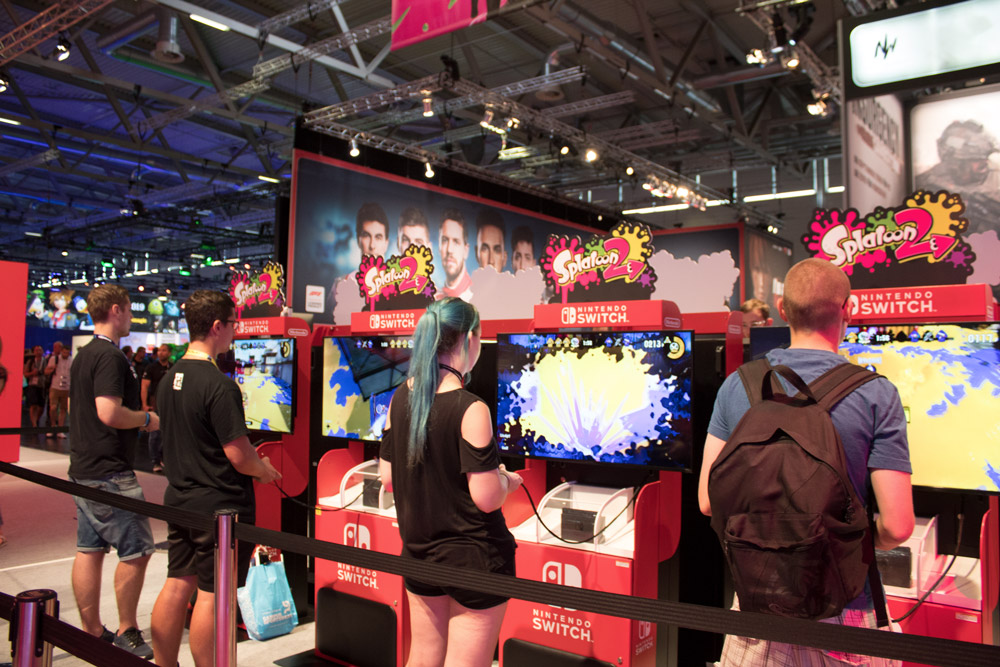 Compte-rendu de la Gamescom 2018 - Test de jeux Nintendo Switch