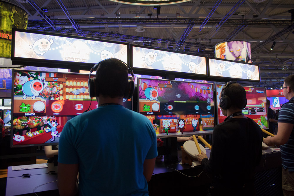 Compte-rendu de la Gamescom 2018 - Test de Taiko no Tatsujin