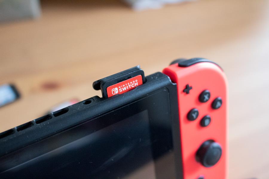Nintendo Switch : Guide pour débutant et avis - Cartouche de jeu