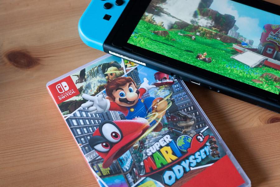 Nintendo Switch : Guide pour débutant et avis - Jeu Mario Odyssey
