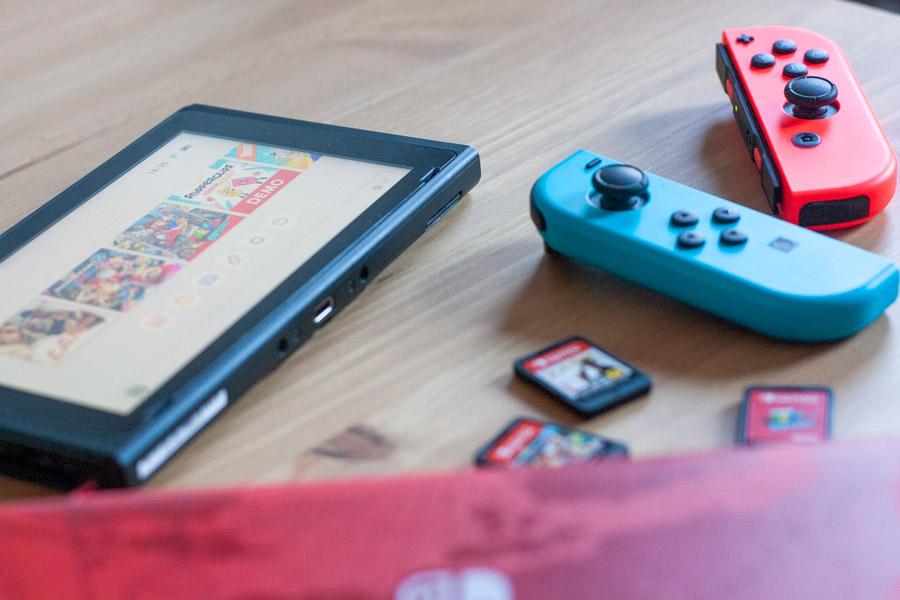 Nintendo Switch : Guide pour débutant et avis - Vue globale