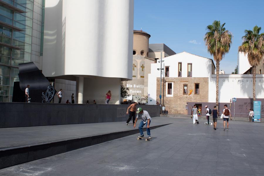 Roadtrip 2018 - Nord de l'Espagne - Barcelone - El Raval - MACBA