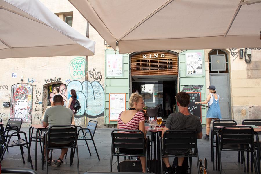 Roadtrip 2018 - Nord de l'Espagne - Barcelone - El Raval - Kino