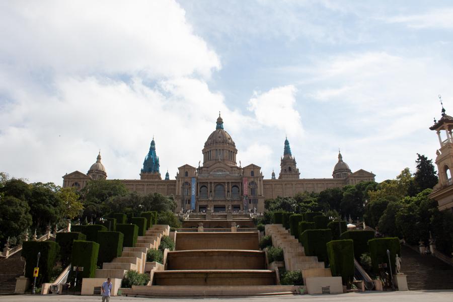 Roadtrip 2018 - Nord de l'Espagne - Barcelone - Montjuïc - Musée national