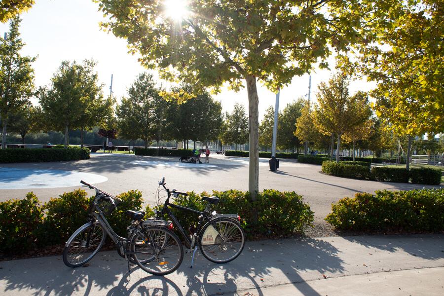 Roadtrip 2018 - Nord de l'Espagne - Saragosse - Expo Universelle 2008 - Vélos