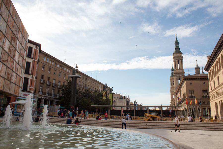 Roadtrip 2018 - Nord de l'Espagne - Saragosse - Plaza del Pilar