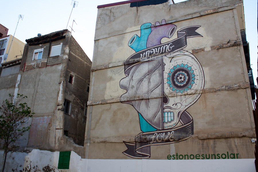 Roadtrip 2018 - Nord de l'Espagne - Saragosse - street Art