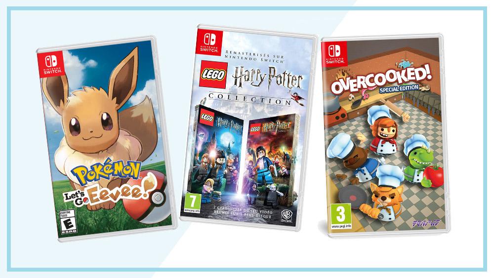 Lama Diaries #29 Novembre 2018 - Jeux vidéos - Pokémon, Harry Potter Lego et Overcooked