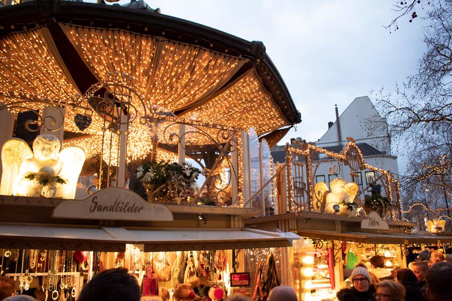 Marchés de Noël à Düsseldorf - Engelchenmarkt