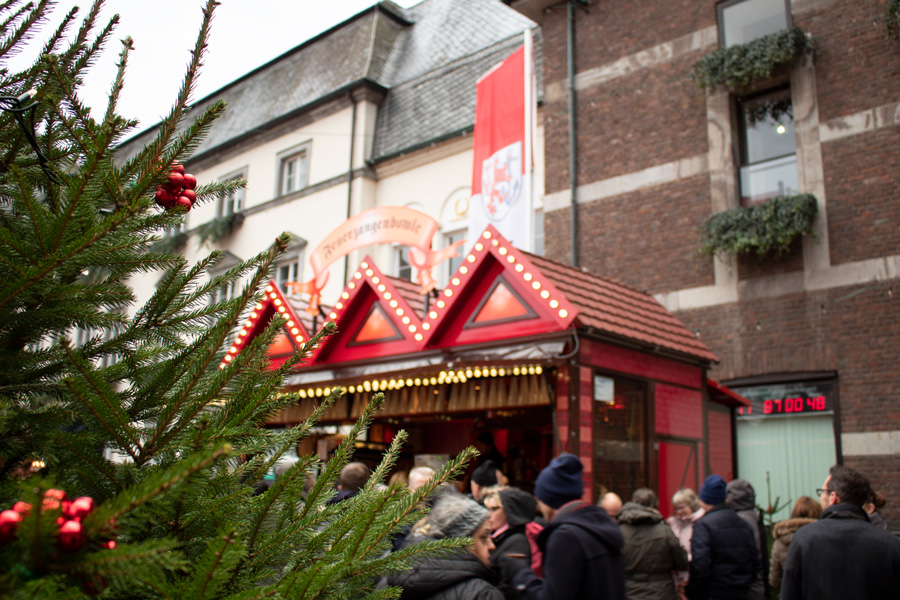 Marchés de Noël à Düsseldorf - Rathausmarkt