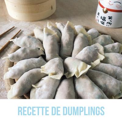 Meilleurs articles 2019 - Recette de dumplings