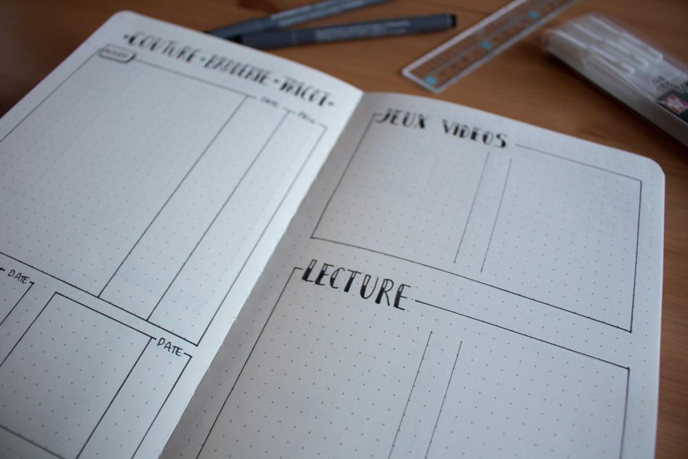 Bullet Journal - Focus page rétrospective