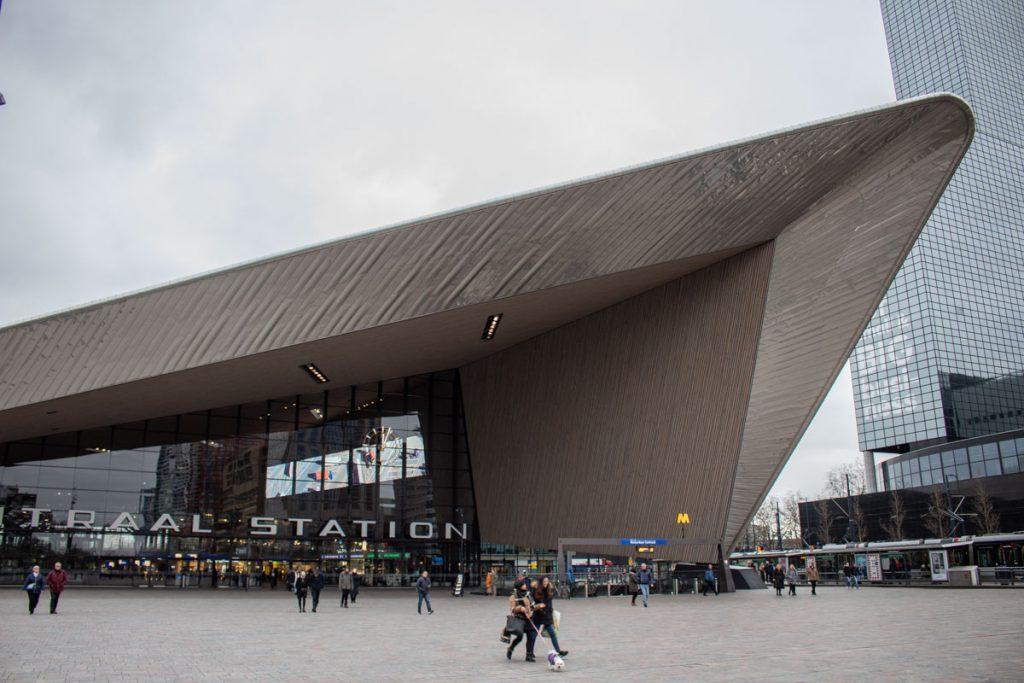 Week-end à Rotterdam - Gare centrale à Rotterdam