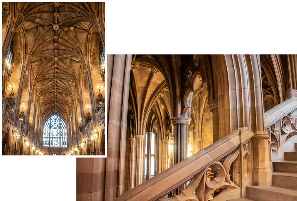 Week-end à Manchester : quartiers, visites & adresses - John Rylands Library Intérieur
