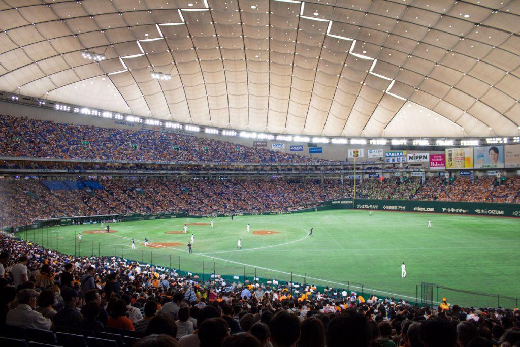 50 souvenirs du Japon - Voir un match de baseball à Tokyo