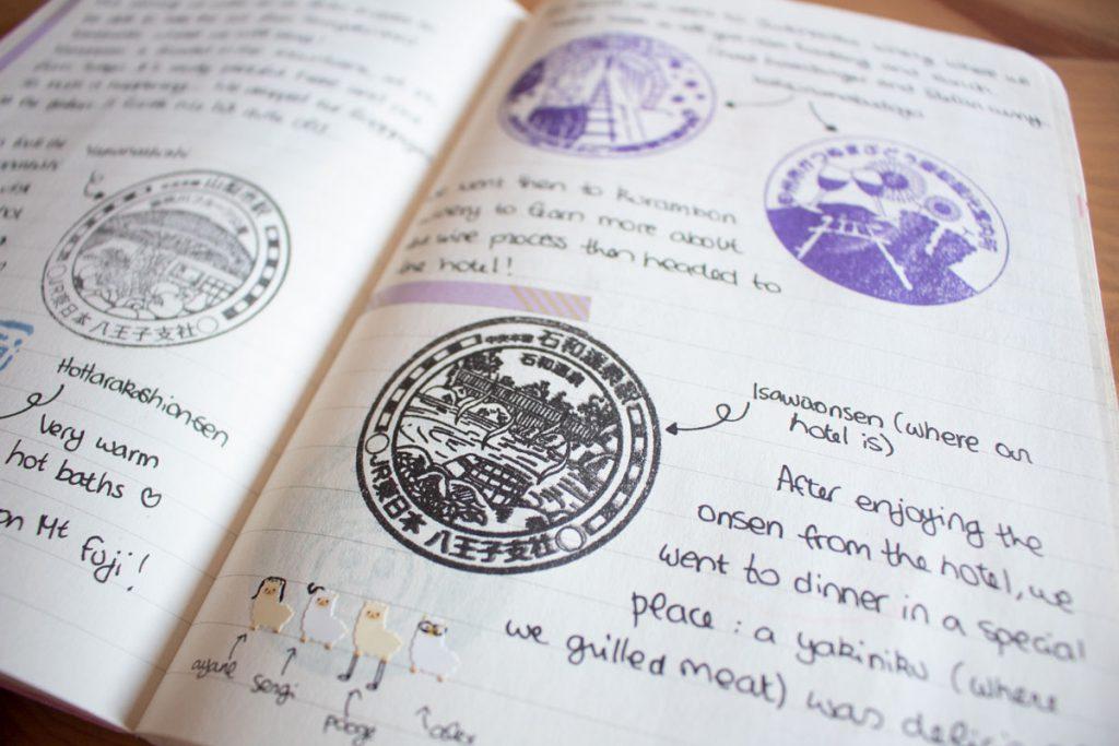 50 souvenirs du Japon - Remplir mon carnet de voyage de tampons