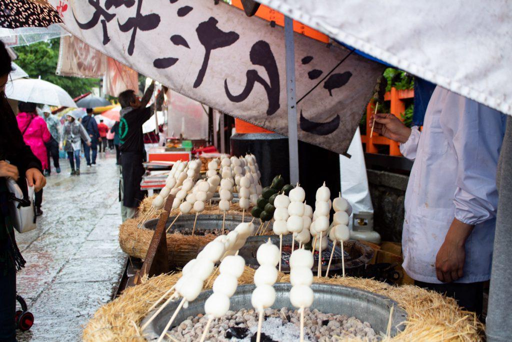 50 souvenirs du Japon - Vendeur de Dango
