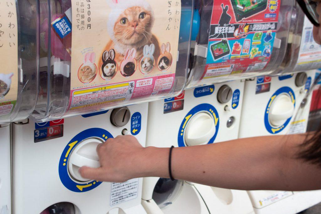 50 souvenirs du Japon - Gashapon