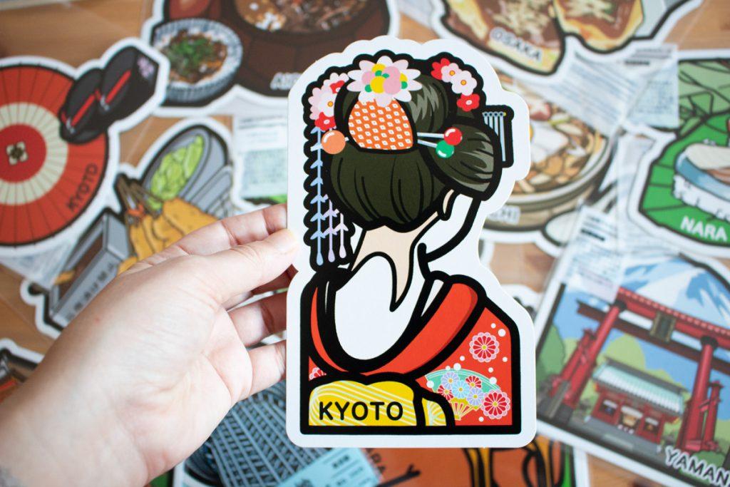 50 souvenirs du Japon - Collectionner les gotochi cards